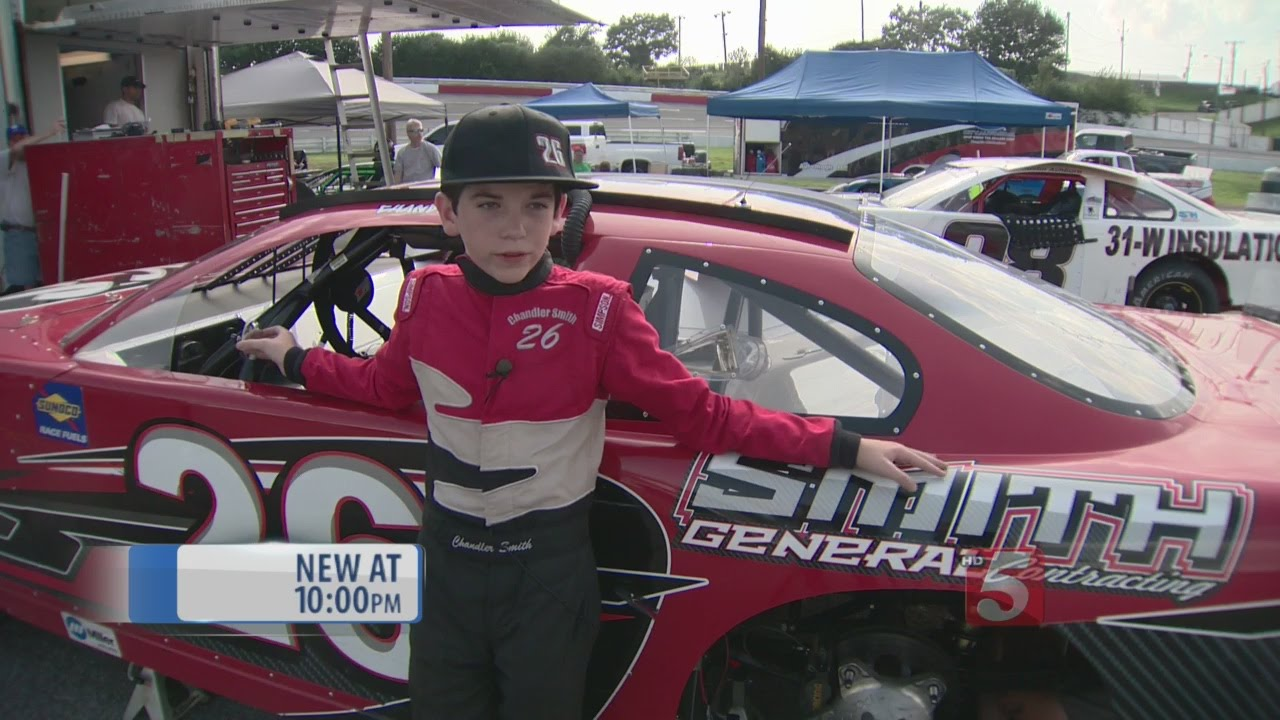 13-Year-Old Stock Car Driver To Compete In Nashville - YouTube