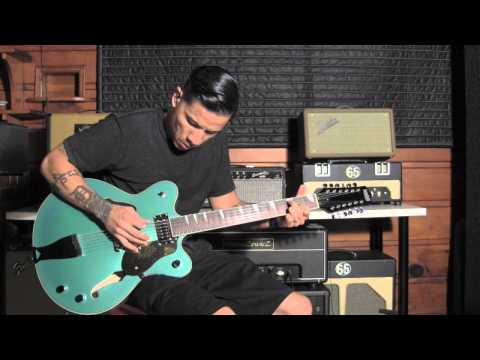 RJ Ronquillo  Classic 12 string guitar riffs  Eastwood Classic 12  Tomaszewicz amp