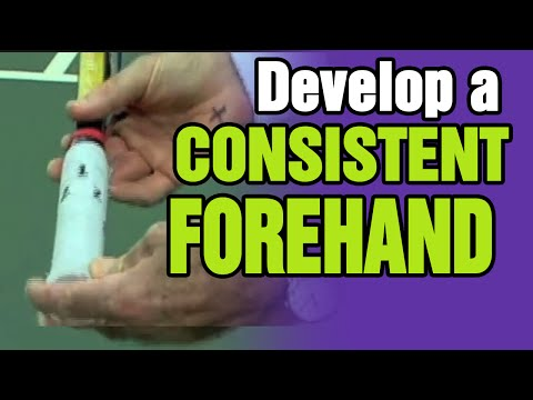 Tennis - How To Develop A Consistent Forehand | Tom Avery Tennis 239.592.5920