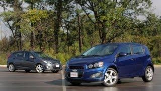 2013 Chevrolet Sonic vs 2013 Hyundai Accent Comparison