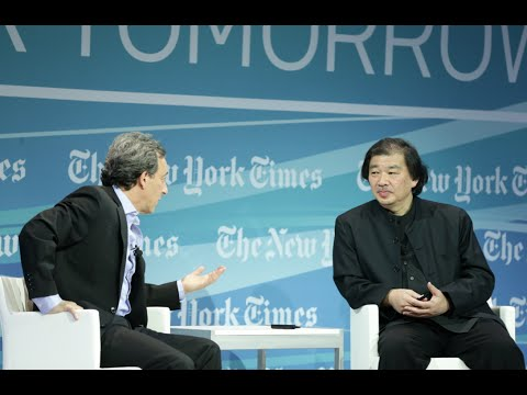 Shigeru Ban, 2014 Pritzker Prize-winning architect at Cities for Tomorrow 2014