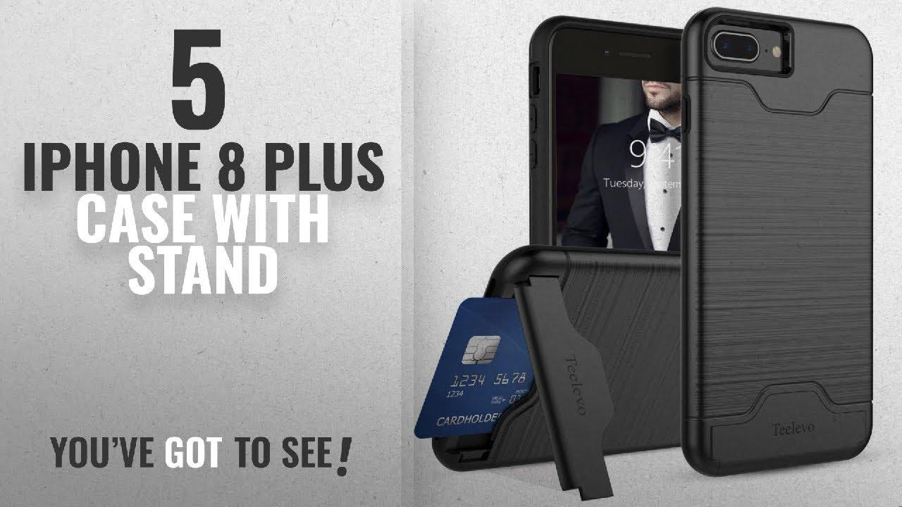 hot sale online 4e455 5d713 Top 5 IPhone 8 Plus Case With Stand [2018 Best Sellers]: iPhone 7 Plus  Case, iPhone 8 Plus Case,