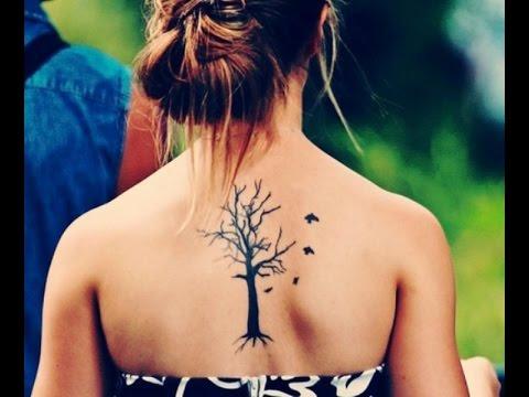 Tatuajes De Arboles Diseños Tattoo Youtube