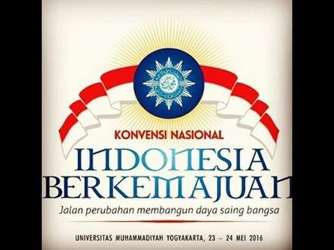 Siaran Live Konvensi Nasional Indonesia berkemajuan