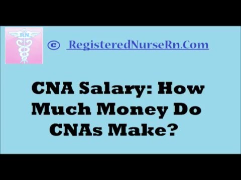 Cna Salary On Average How Much Does A Nurse Make