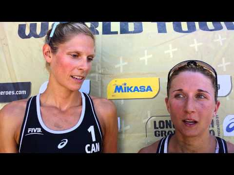 FIVB World Tour: Sarah Pavan & Heather Bansley (CAN)