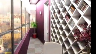 Оформление балконов и лоджий