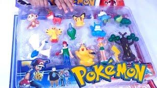 Mainan PIKACHU POKEMON  💖 Koleksi Mainan Anak POKEMON 💖 Let's Play Jenica 💖