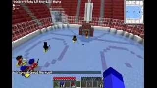Hockey Night sur MinecraftQc