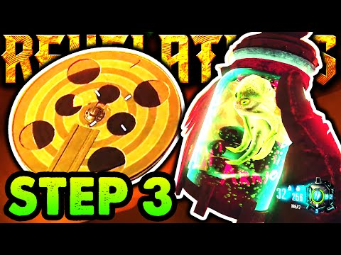 REVELATIONS EASTER EGG GUIDE STEP 3: NEW  REEL TUTORIAL WALKTHROUGH Zombies Main Easter Egg