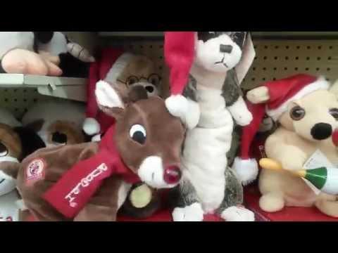 Singing Animated Xmas Toys from Hobby Lobby
