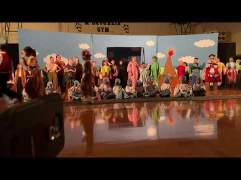 "Missoula Children's Theatre ""Peter and Wendy"". Biggs Elementary School"