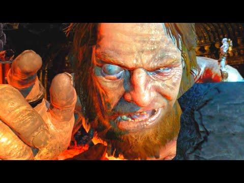 God of War 3 Remastered Hephaestus Betrays Kratos HD 60FPS 1080p