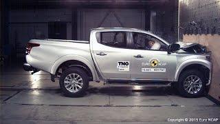 Download Video Mitsubishi L200 Triton Crash Test Euro NCAP MP3 3GP MP4