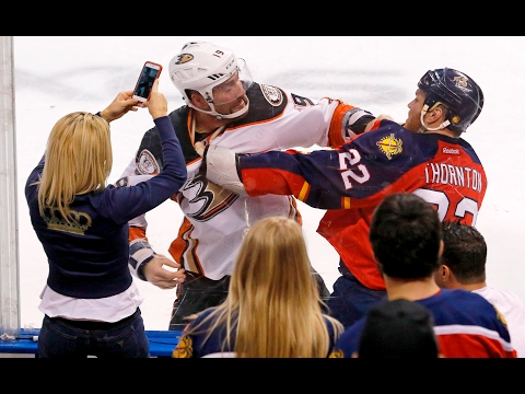 143d4d66cd This is why fighting is allowed in pro hockey - YouTube
