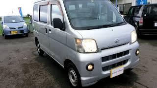 kS AUTO EXPORTS 2007 Daihatsu Hijet cargo 4069 silver