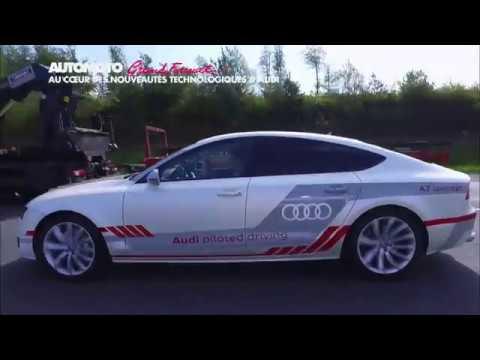 Les secrets d'Audi : la voiture qui roule toute seule