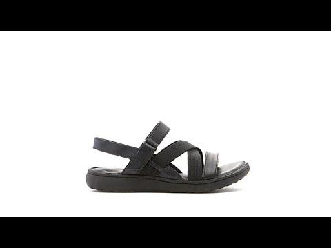 c590f85279982 Born Manta Leather Strappy Sandal - YouTube