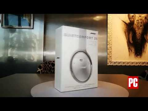 Unboxing of BOSE Quiet Comfort 35 by PC Magazine