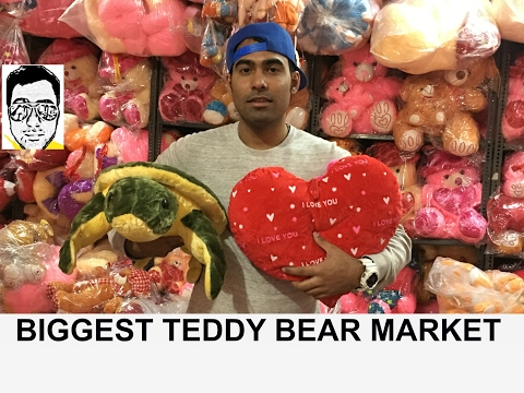 cheapest TOYS wholesale/retail market | teddy bears | valentine special | chandni chowk | delhi