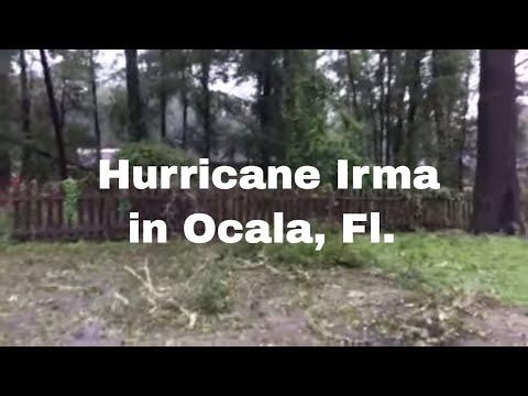 Hurricane Irma: Aftermath in Ocala, Florida