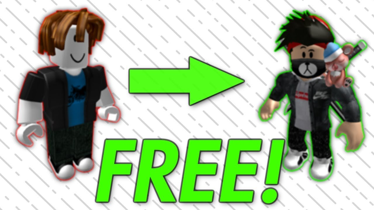 How To Make Your Roblox Avatar Cool For Free Youtube