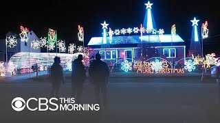 "N.J. man facing fines for Christmas light show: ""This is my First Amendment right"""