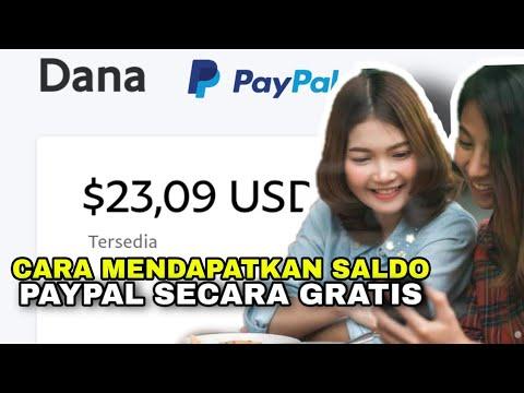 Cara Mendapatkan Uang di Paypal Gratis.