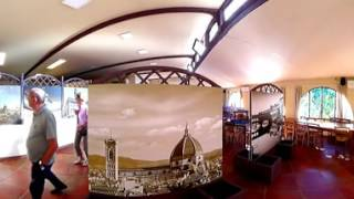 Bar - Camping Panoramico Fiesole a Fiesole, Firenze, in Toscana - Video 360