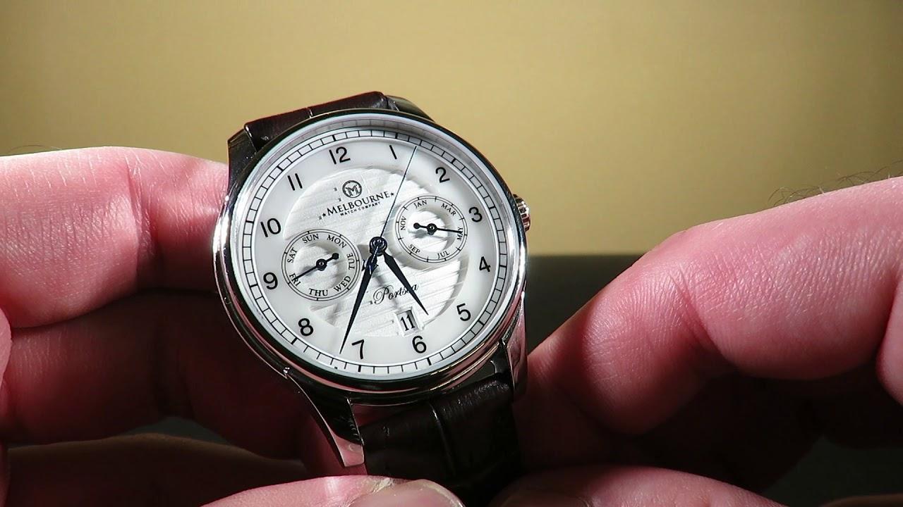 29e7a30c617 Melbourne Watch Company PortSea Calendar Automatic Watch Review Australian  Watch Brand