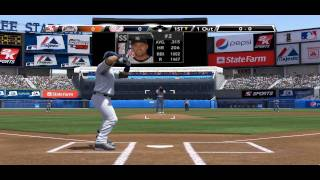 MLB 2k9 ---- Mets VS Yankees Part 1