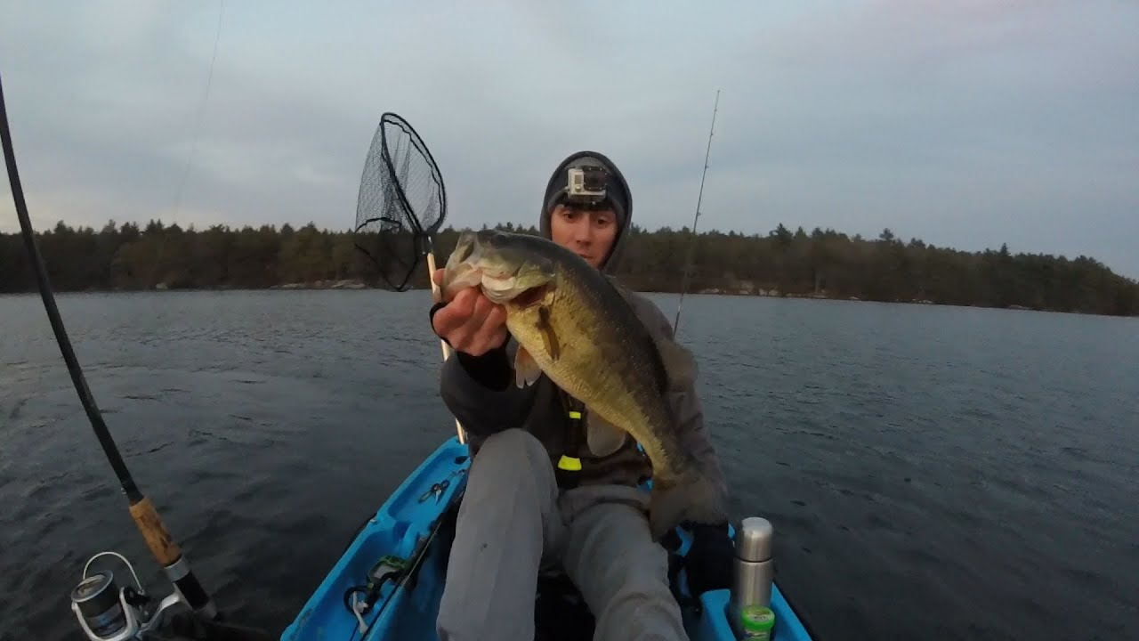 Deep water winter bass fishing beach pond ct ri with for Bass fishing in ct