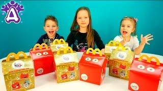 Открываем  ХЭППИ МИЛ с игрушками. Игрушки Макдональдс.  Open the Happy Meal toys. McDonald's toys.