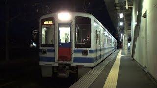 【北越急行】ほくほく線 普通越後湯沢行 直江津 Japan Niigata Hokuetsu Express Hokuhoku Line Trains