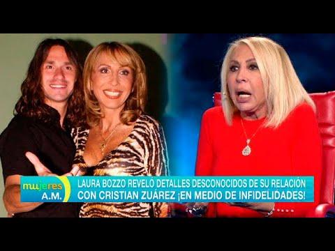 Laura Bozzo reveló detalles desconocidos de su relación con Cristian Zuárez - Mujeres al mando