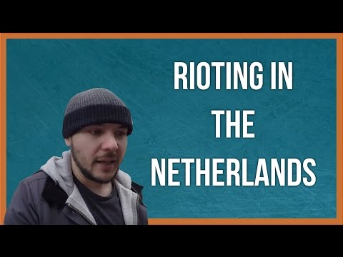 PREPARING FOR RIOTS IN THE NETHERLANDS