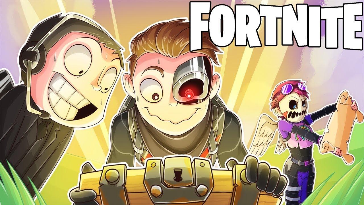FINDING SECRET TREASURE IN FORNITE! (Fortnite Battle Royale Funny Moments)