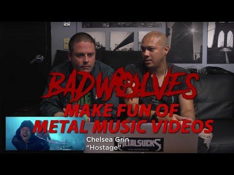 BAD WOLVES Make Fun of Metal Music Videos | MetalSucks
