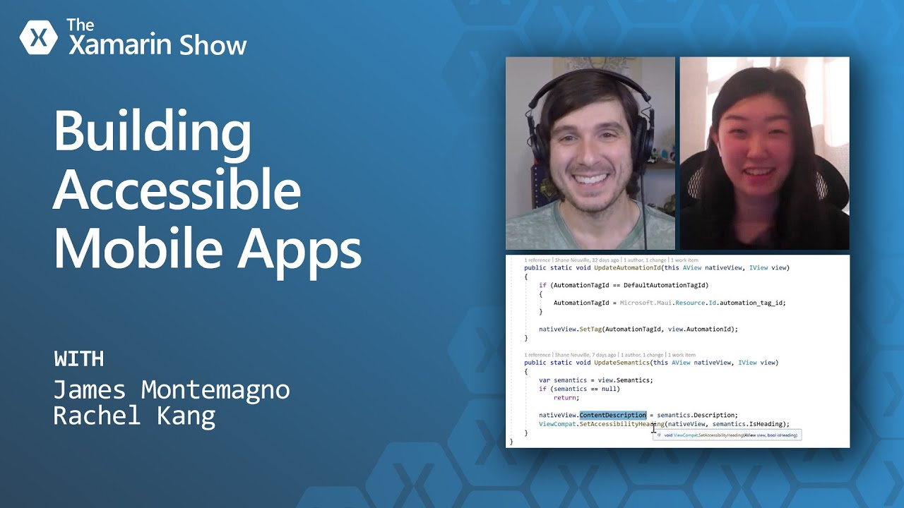 Building Accessible Mobile Apps   The Xamarin Show