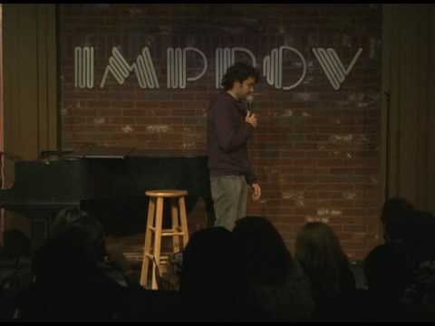 Nick Rutherford at The Hollywood Improv
