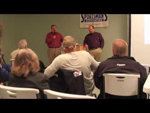 Lake Fork Sportsman's Association meeting with Dallas Water Utilities