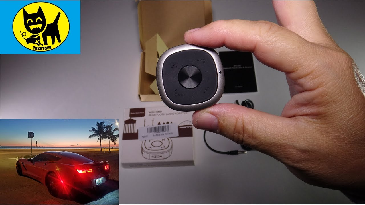 DYTesa APTX Low Latency Bluetooth TV Transmitter and Receiver unboxing and  review