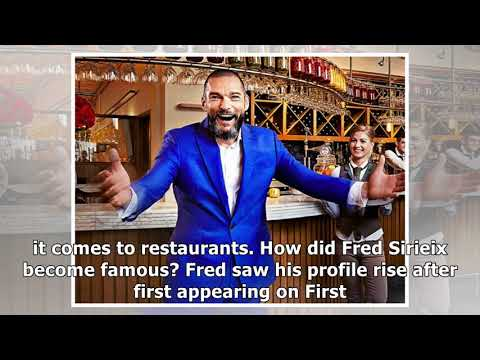 Who Is Fred Sirieix? First Dates Maitre D' And Manager At Michelinstarred Restaurant Galvin At Wind