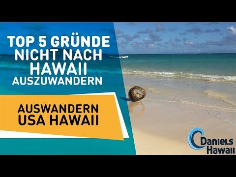 Top 5 Gründe nicht nach Hawaii auszuwandern - Auswandern USA Hawaii