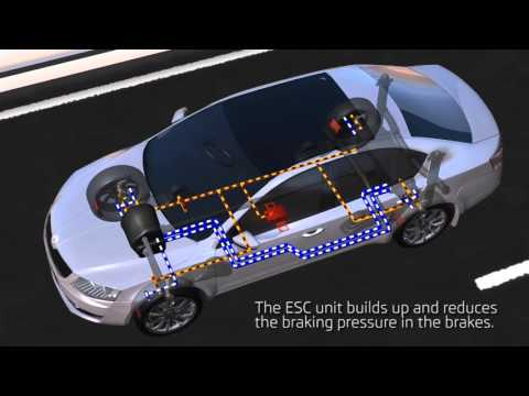Electronic Stability program ESC in Action - Zed - VFX Animated Video for Cars