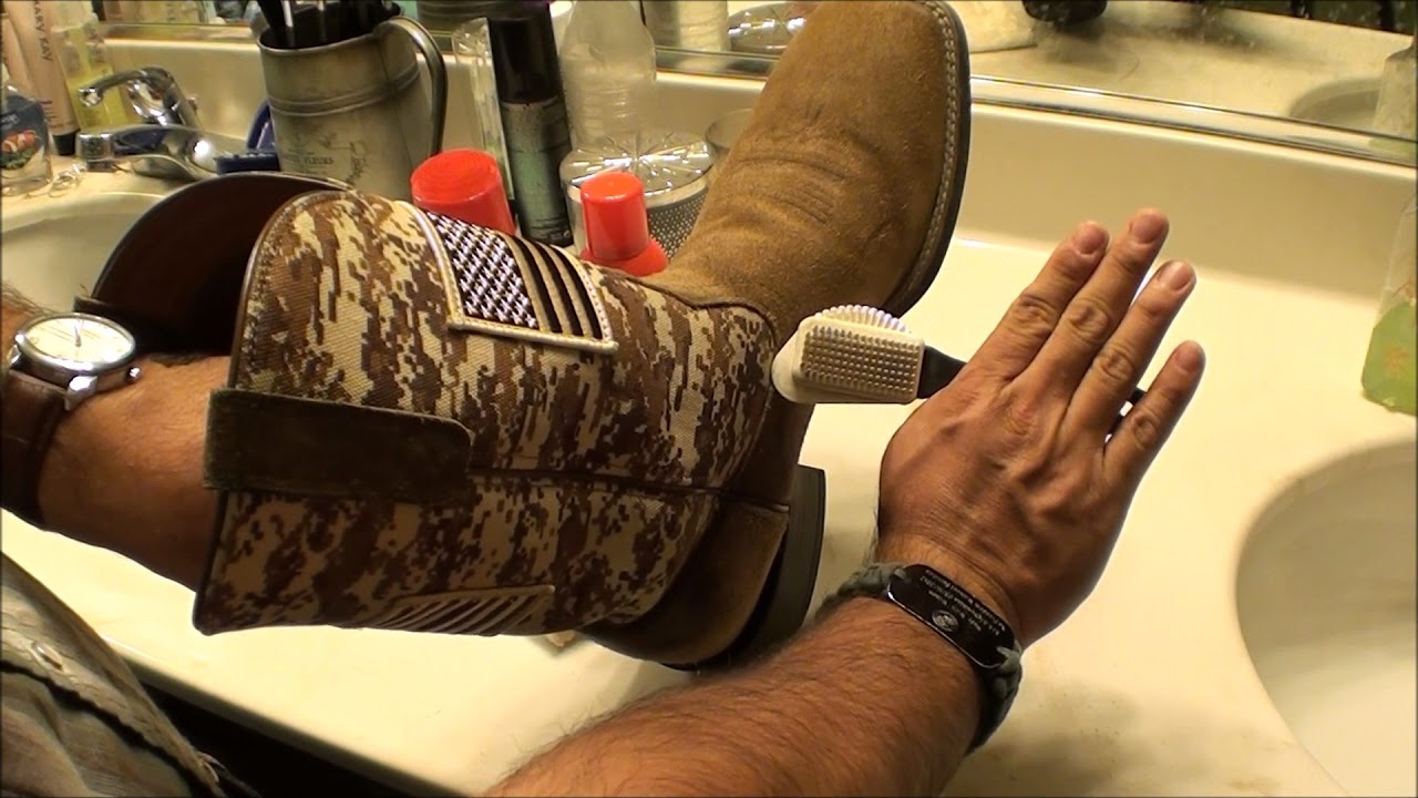 Ariat Boots Cleaning