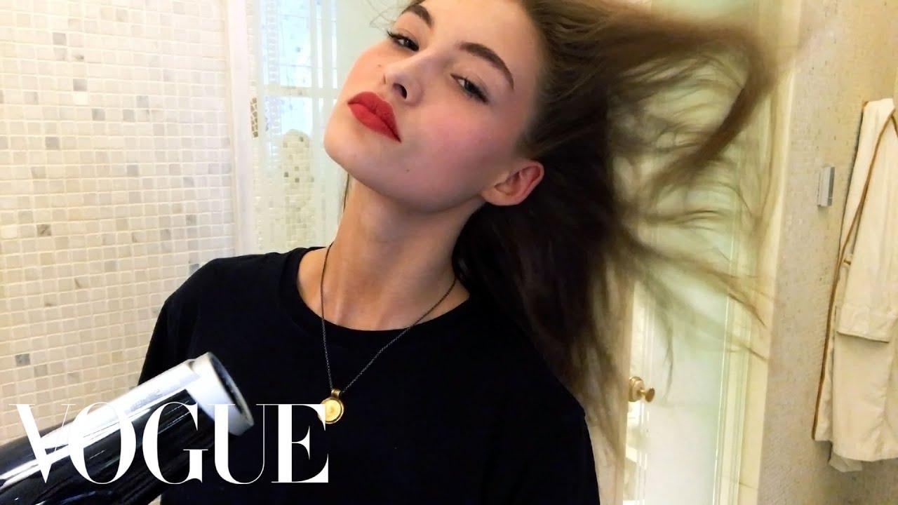 Grace Elizabeth's Easy Model-On-Duty Makeup