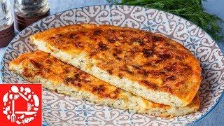 Просто и очень Вкусно! Ленивые Хачапури на сковороде. Завтрак для всей семьи!
