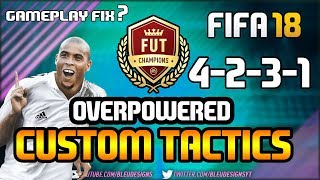 Video FIFA 18 | *NEW* MOST OVERPOWERED FORMATION! | 4-2-3-1 NARROW | PLAYER INSTRUCTIONS + CUSTOM TACTICS download MP3, 3GP, MP4, WEBM, AVI, FLV Juni 2018