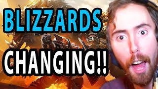 Asmongold Blizzard ADMITS They Were WRONG!!!! - Bellular